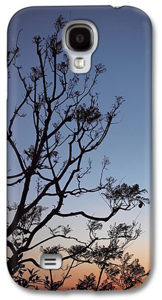 Jacaranda Sunset Galaxy S4 Case by Rona Black