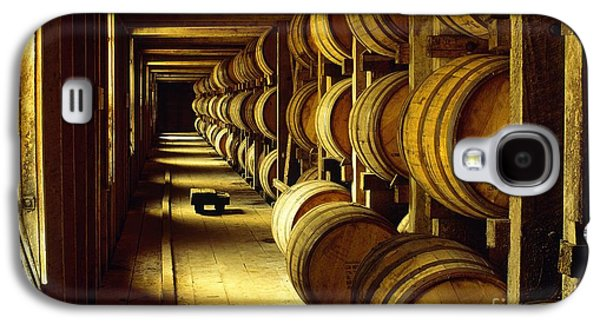 Jack Daniel Whiskey Maturing In Barrels In Old Warehouse At The Lynchburg Distillery Tennessee Usa Galaxy S4 Case