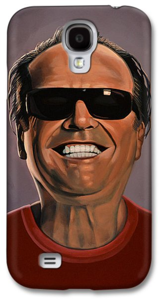 Jack Nicholson 2 Galaxy S4 Case by Paul Meijering
