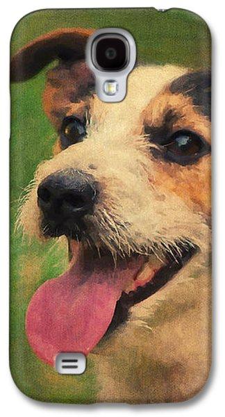 Jack Russell Terrier Portrait Galaxy S4 Case