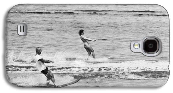 Jackie & John Glenn Water Ski Galaxy S4 Case