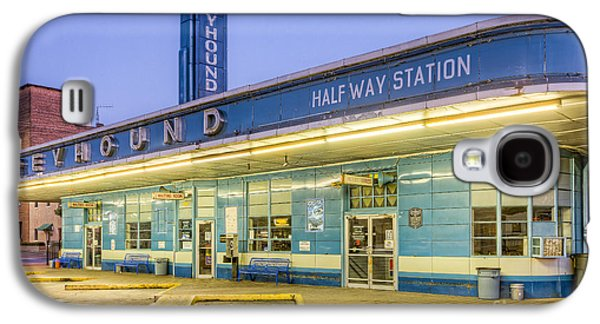 Jackson Greyhound Bus Station IIi Galaxy S4 Case by Clarence Holmes