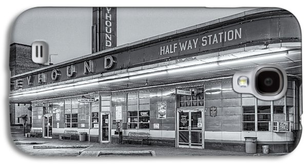 Jackson Greyhound Bus Station Iv Galaxy S4 Case by Clarence Holmes