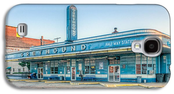 Jackson Greyhound Bus Station V Galaxy S4 Case by Clarence Holmes