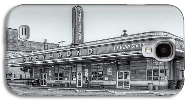 Jackson Greyhound Bus Station Vi Galaxy S4 Case by Clarence Holmes