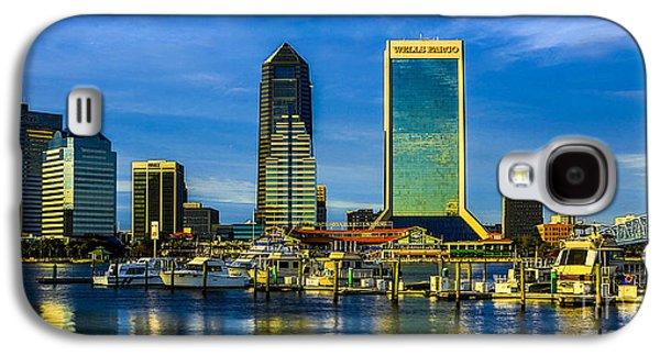 Jacksonville Skyline Sunset Galaxy S4 Case