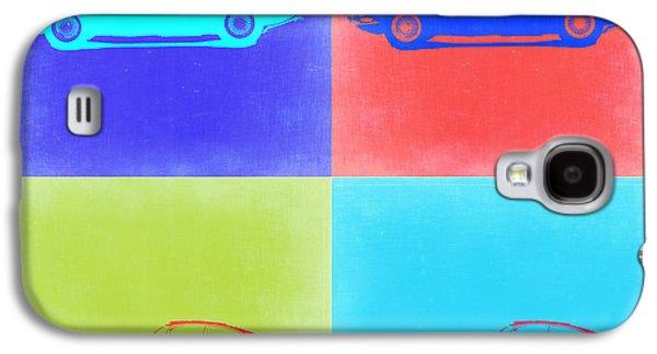 Jaguar E Type Pop Art 2 Galaxy S4 Case by Naxart Studio