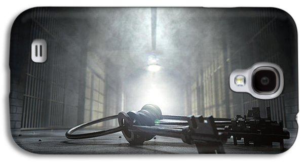 Jail Corridor And Keys Galaxy S4 Case