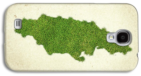 Jamaica Grass Map Galaxy S4 Case by Aged Pixel