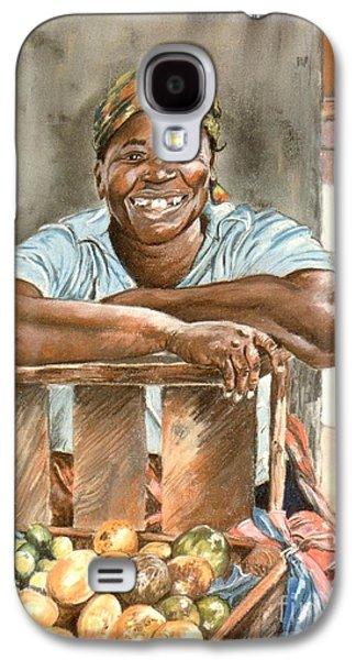 Jamaican Fruit Seller Galaxy S4 Case