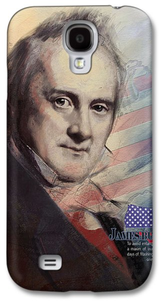 James Buchanan Galaxy S4 Case