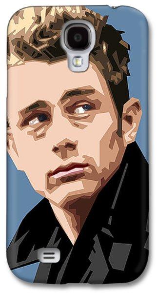 James Dean In Color Galaxy S4 Case by Douglas Simonson