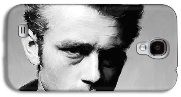 James Dean - Portrait Galaxy S4 Case by Paul Tagliamonte