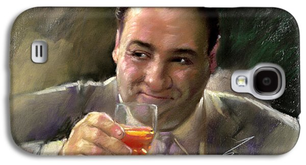 James Gandolfini Galaxy S4 Case by Viola El