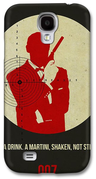 James Poster Black 4 Galaxy S4 Case by Naxart Studio