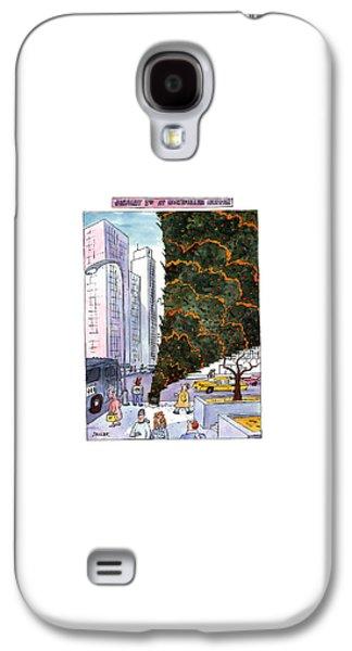 January 3rd At Rockefeller Center Galaxy S4 Case