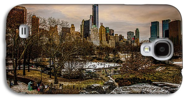 January At Central Park South Galaxy S4 Case by Chris Lord