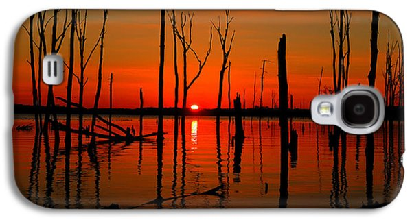 January Sunrise Galaxy S4 Case