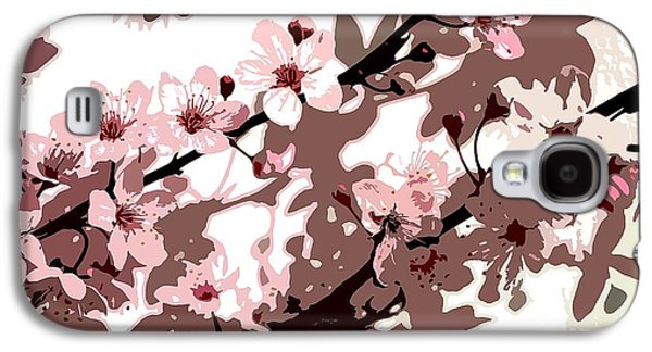 Japanese Blossom Galaxy S4 Case