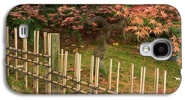 Japanese Maple, Acer Palmatum, In Fall Galaxy S4 Case by William Sutton
