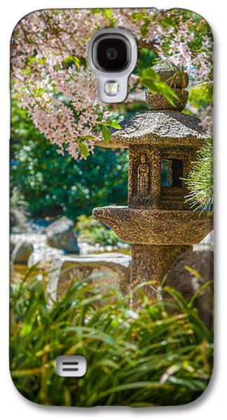 Japanese Shrine In The Garden Galaxy S4 Case by Sarit Sotangkur
