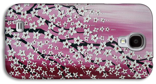 Japanese Spring Galaxy S4 Case by Cathy Jacobs