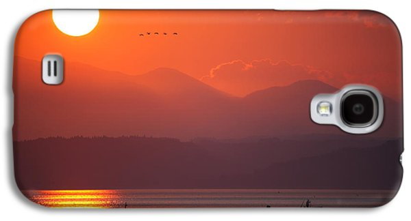 Japanese Sunset Galaxy S4 Case