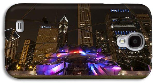 Jay Pritzker Pavilion Chicago Galaxy S4 Case by Adam Romanowicz