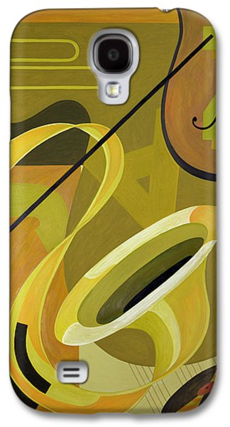 Trombone Galaxy S4 Case - Jazz by Carolyn Hubbard-Ford