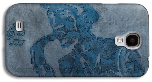 Jazz Man Galaxy S4 Case by Dan Sproul