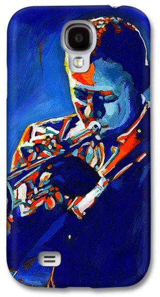 Trumpet Galaxy S4 Case - Jazz Man Miles Davis by Vel Verrept