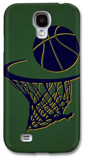 Jazz Team Hoop2 Galaxy S4 Case by Joe Hamilton