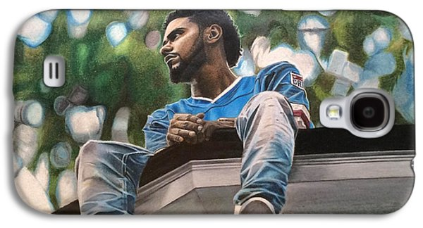 J.cole - 2014 Forest Hills Drive Drawing Galaxy S4 Case
