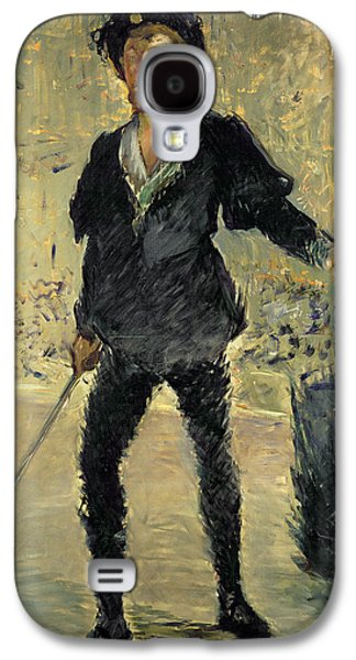 Jean Baptiste Faure In The Opera Hamlet By Ambroise Thomas Galaxy S4 Case by Edouard Manet