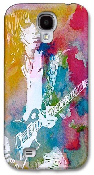 Jeff Beck Watercolor Galaxy S4 Case