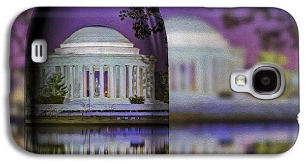 Jefferson Memorial In A Bottle Galaxy S4 Case