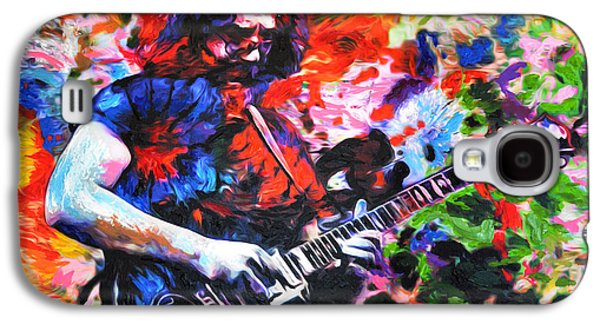 Jerry Garcia - Grateful Dead - Original Painting Print Galaxy S4 Case