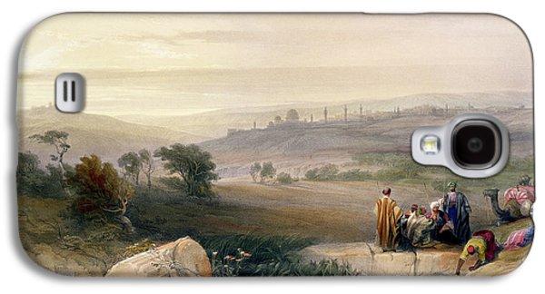 Jerusalem, April 1839 Galaxy S4 Case by David Roberts