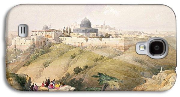 Jerusalem, April 9th 1839, Plate 16 Galaxy S4 Case