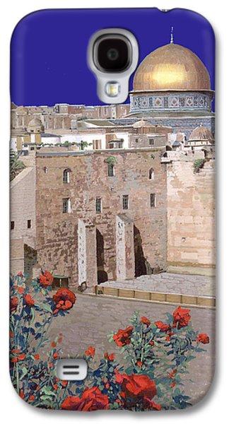 Jerusalem Galaxy S4 Case by Guido Borelli