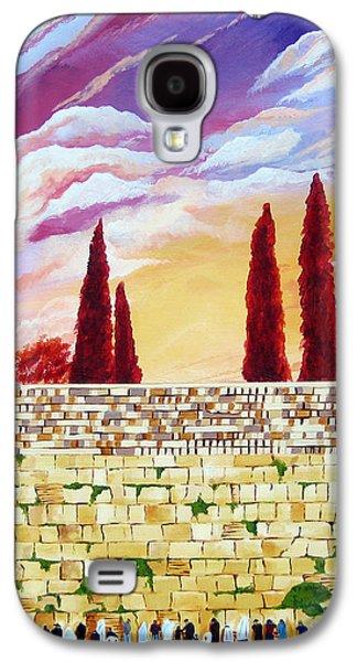 Jerusalem Prayers Galaxy S4 Case by Dawnstarstudios