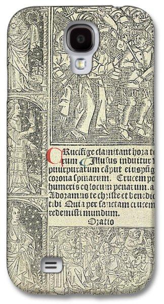 Jesus Christ Galaxy S4 Case by British Library