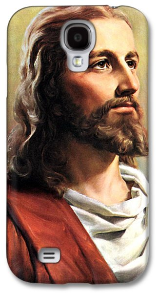 Jesus Christ Galaxy S4 Case by Munir Alawi