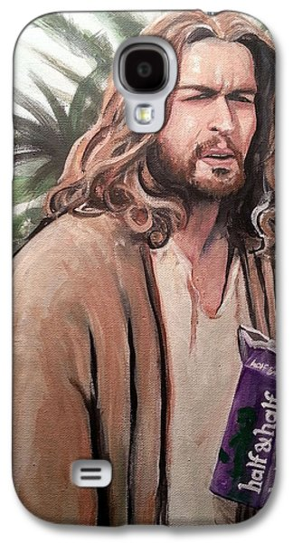 Jesus Lebowski Galaxy S4 Case by Tom Carlton