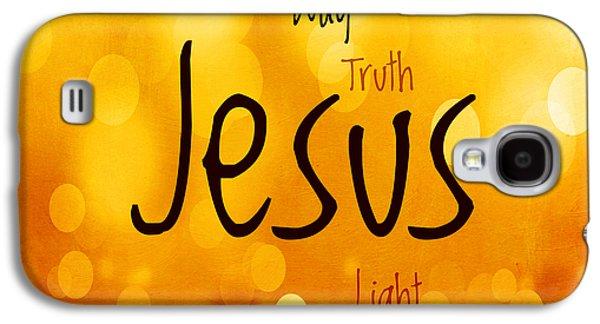 Jesus Light 1 Galaxy S4 Case by Angelina Vick