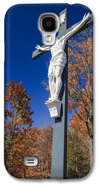 Jesus On The Cross Galaxy S4 Case by Adam Romanowicz