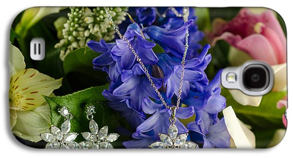 Jewellery On Flowers Galaxy S4 Case by Nikita Buida