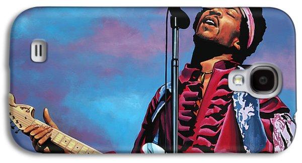 Jimi Hendrix 2 Galaxy S4 Case by Paul Meijering