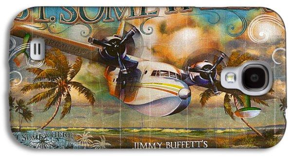 Hammerhead Shark Galaxy S4 Case - Jimmy Buffett's Hemisphere Dancer by Desiderata Gallery