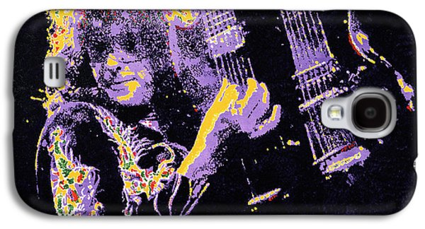 Jimmy Page Galaxy S4 Case by Barry Novis